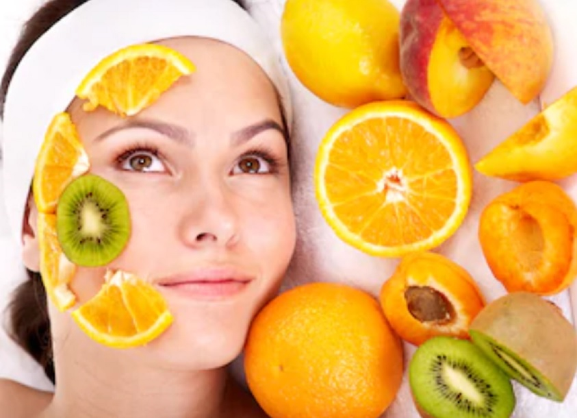 fruit facial at home