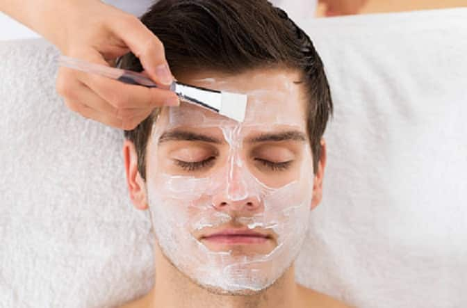 Alt: men's facial