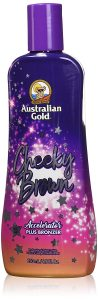 Cheeky Brown accelerator natural dark bronzer- best indoor tanning lotion for fair skin