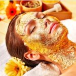 gold rediance facial