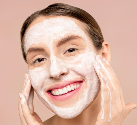 basic facial cleanup