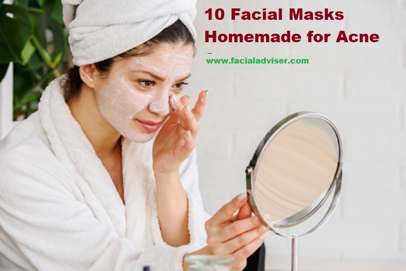 facial masks homemade for acne scars
